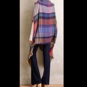 Anthropologie Saachi Plaid Kimono NWT